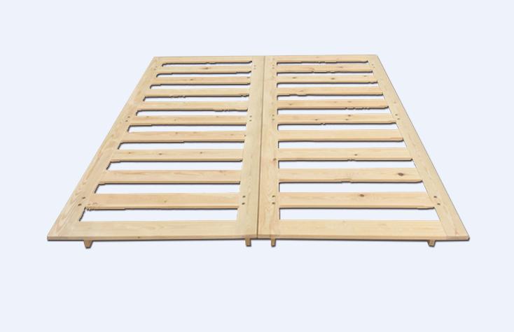 实木床板排骨架
