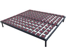 软床家具专用塑胶花折叠排骨架